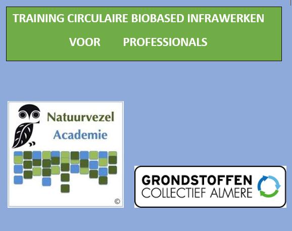 Training Circulaire Biobased Infrawerken voor professionals